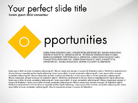 Strengths Weaknesses Opportunities and Threats Presentation, Slide 5, 03295, Business Models — PoweredTemplate.com