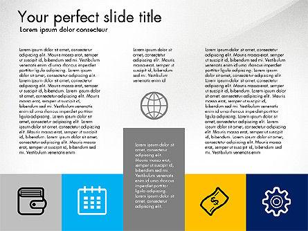Company Profile Presentation in Flat Design Style, Slide 4, 03296, Presentation Templates — PoweredTemplate.com