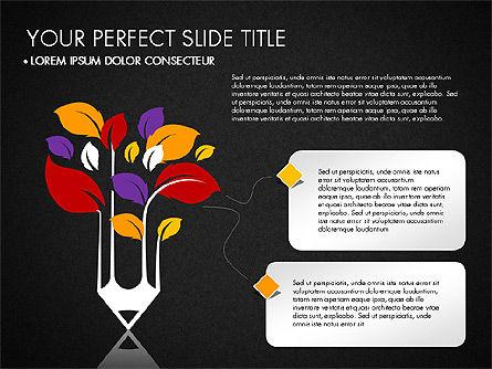 Creative Approach Presentation Concept, Slide 9, 03297, Presentation Templates — PoweredTemplate.com