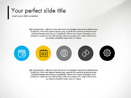 Team Presentation Template Concept, 03298, Presentation Templates — PoweredTemplate.com