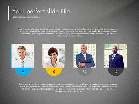 Team Presentation Template Concept, Slide 11, 03298, Presentation Templates — PoweredTemplate.com