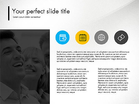 Team Presentation Template Concept, Slide 2, 03298, Presentation Templates — PoweredTemplate.com