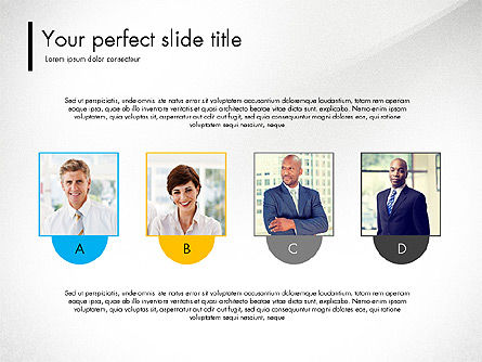 Team Presentation Template Concept, Slide 3, 03298, Presentation Templates — PoweredTemplate.com