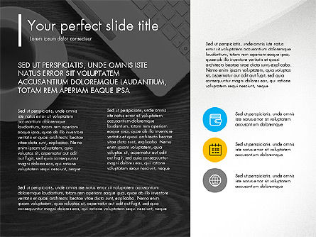 Team Presentation Template Concept, Slide 6, 03298, Presentation Templates — PoweredTemplate.com