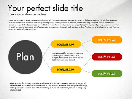 Creating Plan Presentation Template, Slide 3, 03299, Presentation Templates — PoweredTemplate.com