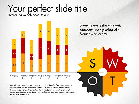 Creating Plan Presentation Template, Slide 6, 03299, Presentation Templates — PoweredTemplate.com