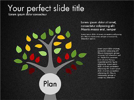 Creating Plan Presentation Template, Slide 9, 03299, Presentation Templates — PoweredTemplate.com