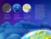 Presentation Templates: Data Driven Presentation on Globe Background #03300