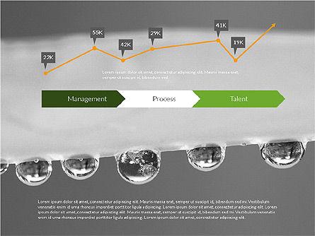 Data Driven Ecology Presentation Template, Slide 10, 03301, Presentation Templates — PoweredTemplate.com