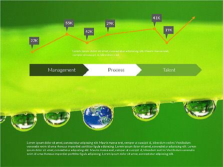Data Driven Ecology Presentation Template, Slide 2, 03301, Presentation Templates — PoweredTemplate.com