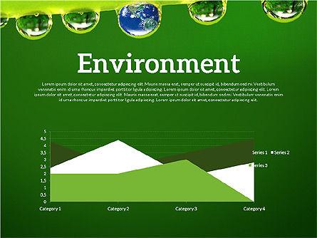 Data Driven Ecology Presentation Template, Slide 4, 03301, Presentation Templates — PoweredTemplate.com