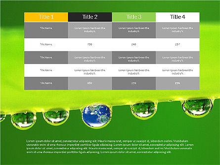 Data Driven Ecology Presentation Template, Slide 6, 03301, Presentation Templates — PoweredTemplate.com