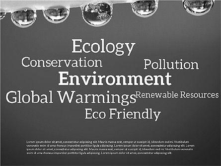 Data Driven Ecology Presentation Template, Slide 9, 03301, Presentation Templates — PoweredTemplate.com