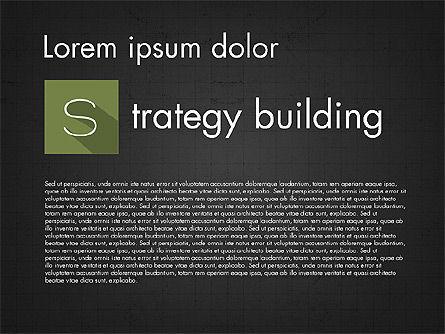 SWOT Matrix, Slide 15, 03302, Business Models — PoweredTemplate.com