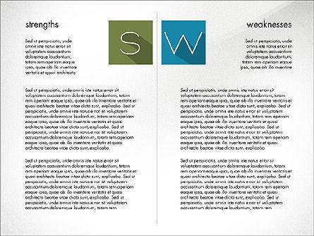 SWOT Matrix, Slide 2, 03302, Business Models — PoweredTemplate.com