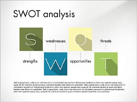 SWOT Matrix, Slide 4, 03302, Business Models — PoweredTemplate.com
