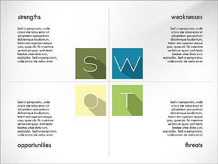 SWOT Matrix, Slide 6, 03302, Business Models — PoweredTemplate.com