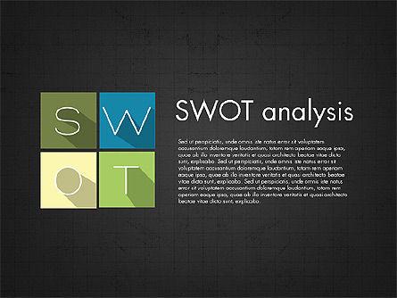 SWOT Matrix, Slide 9, 03302, Business Models — PoweredTemplate.com