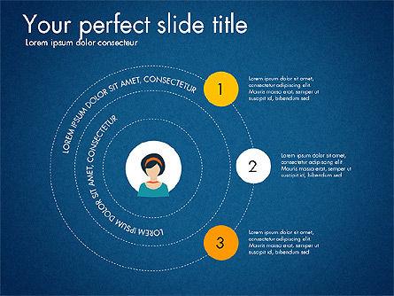 Social Circles Concept, Slide 11, 03303, Organizational Charts — PoweredTemplate.com
