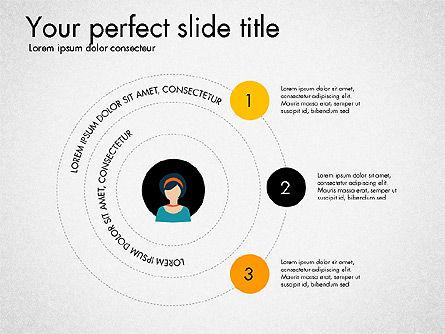 Social Circles Concept, Slide 3, 03303, Organizational Charts — PoweredTemplate.com