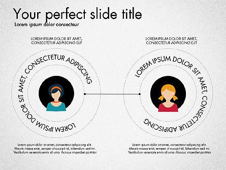 Social Circles Concept, Slide 5, 03303, Organizational Charts — PoweredTemplate.com