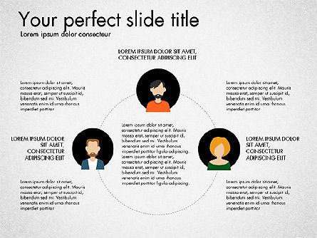 Social Circles Concept, Slide 8, 03303, Organizational Charts — PoweredTemplate.com