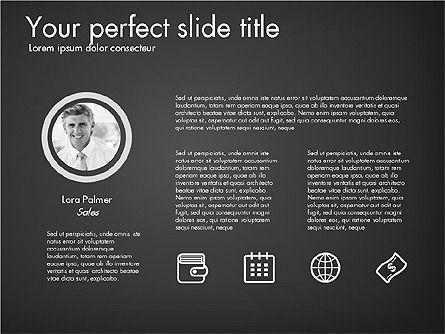 Corporate Presentation Template, Slide 10, 03304, Presentation Templates — PoweredTemplate.com