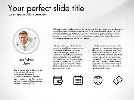 Corporate Presentation Template, Slide 2, 03304, Presentation Templates — PoweredTemplate.com
