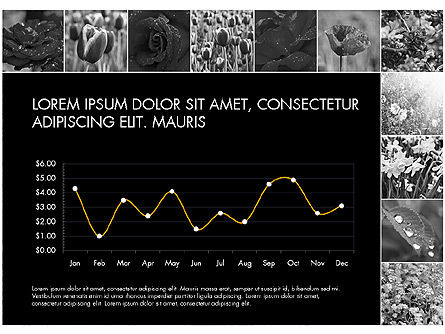 Data Driven Slides with Flowers, Slide 16, 03305, Data Driven Diagrams and Charts — PoweredTemplate.com