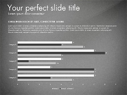 Thin and Gray Presentation Template, Slide 10, 03306, Presentation Templates — PoweredTemplate.com