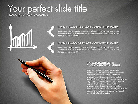 Thin and Gray Presentation Template, Slide 11, 03306, Presentation Templates — PoweredTemplate.com