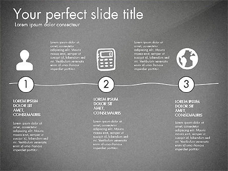 Thin and Gray Presentation Template, Slide 13, 03306, Presentation Templates — PoweredTemplate.com