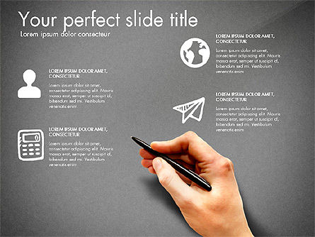 Thin and Gray Presentation Template, Slide 16, 03306, Presentation Templates — PoweredTemplate.com