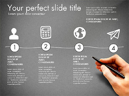 Thin and Gray Presentation Template, Slide 9, 03306, Presentation Templates — PoweredTemplate.com
