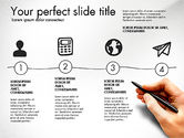 Presentation Templates: Thin and Gray Presentation Template #03306