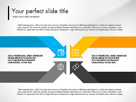 Presentation Templates: Blue and Orange Presentation Concept #03307