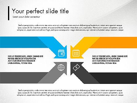 Blue and Orange Presentation Concept, 03307, Presentation Templates — PoweredTemplate.com