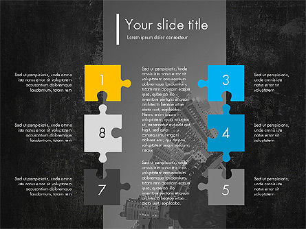 Blue and Orange Presentation Concept, Slide 10, 03307, Presentation Templates — PoweredTemplate.com