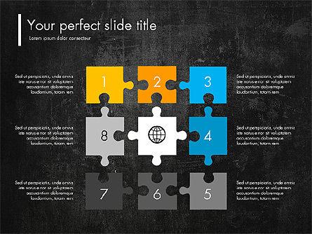 Blue and Orange Presentation Concept, Slide 13, 03307, Presentation Templates — PoweredTemplate.com