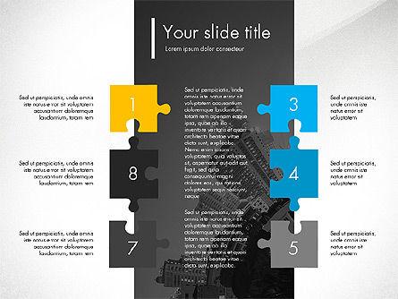 Blue and Orange Presentation Concept, Slide 2, 03307, Presentation Templates — PoweredTemplate.com