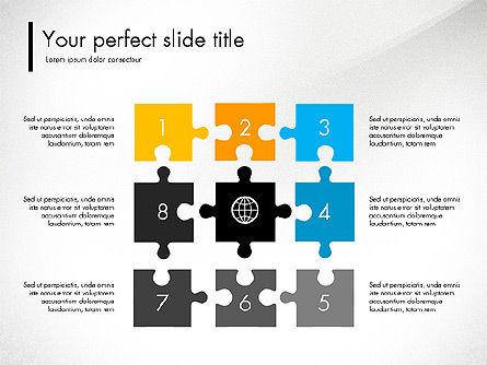 Blue and Orange Presentation Concept, Slide 5, 03307, Presentation Templates — PoweredTemplate.com