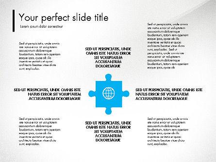 Blue and Orange Presentation Concept, Slide 8, 03307, Presentation Templates — PoweredTemplate.com