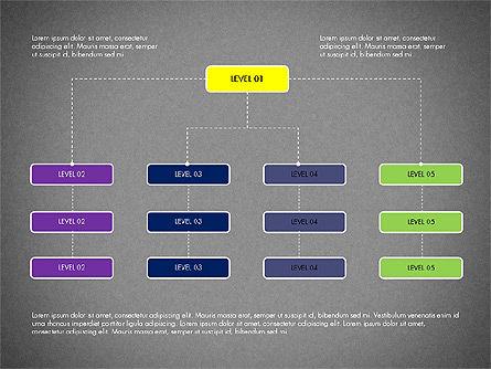 Organizational Chart Toolbox, Slide 10, 03308, Organizational Charts — PoweredTemplate.com