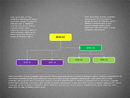 Organizational Chart Toolbox, Slide 11, 03308, Organizational Charts — PoweredTemplate.com