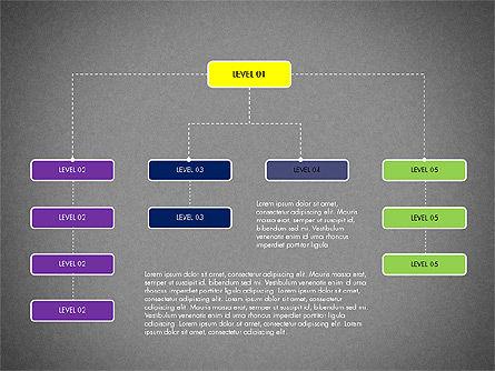 Organizational Chart Toolbox, Slide 13, 03308, Organizational Charts — PoweredTemplate.com