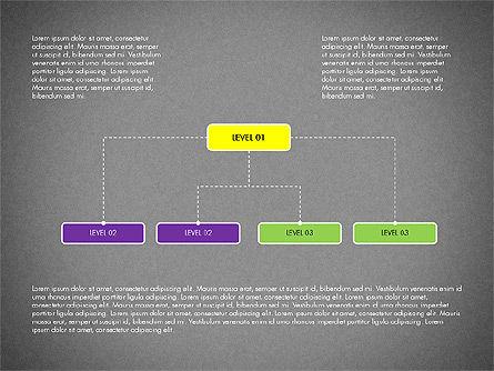 Organizational Chart Toolbox, Slide 14, 03308, Organizational Charts — PoweredTemplate.com