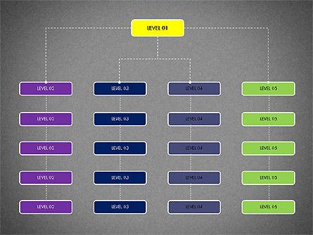 Organizational Chart Toolbox, Slide 16, 03308, Organizational Charts — PoweredTemplate.com
