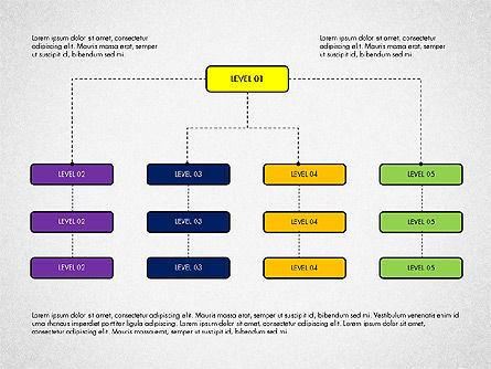 Organizational Chart Toolbox, Slide 2, 03308, Organizational Charts — PoweredTemplate.com