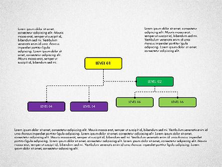 Organizational Chart Toolbox, Slide 3, 03308, Organizational Charts — PoweredTemplate.com