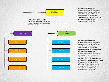 Organizational Chart Toolbox, Slide 4, 03308, Organizational Charts — PoweredTemplate.com